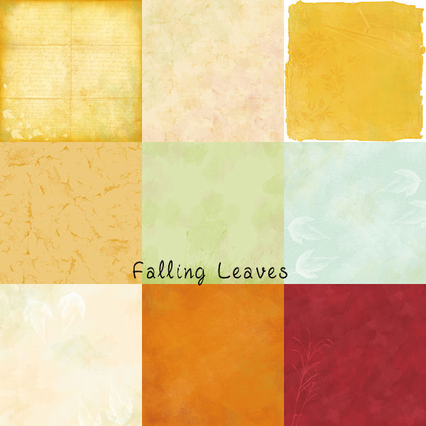 HSA - Falling Leaves papers kit