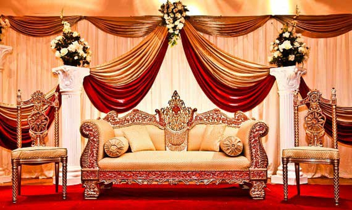 Most beautiful wedding stage decoration ideas designs 2015 for Design of decoration