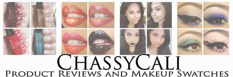 ChassyCali - Makeup Reviews & Swatches