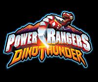 Logo da série Power Rangers: Dino Trovão