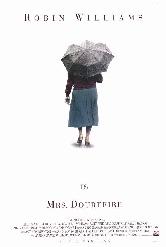 CLASSIC MOVIES: MRS. DOUBTFIRE (1993)