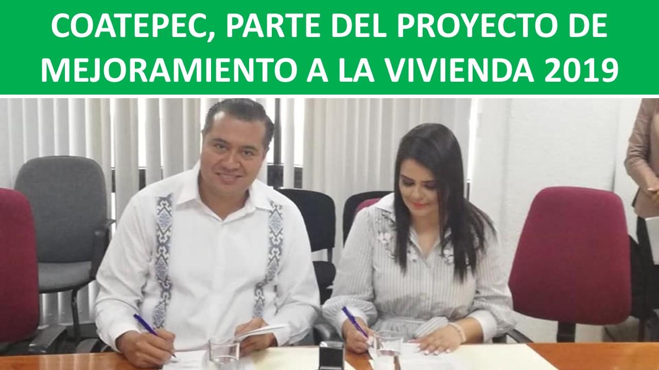 MEJORAMIENTO A LA VIVIENDA 2019