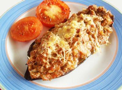 Argodey fortaleza receta berenjenas rellenas de carne con queso al horno - Berenjenas rellenas al horno ...