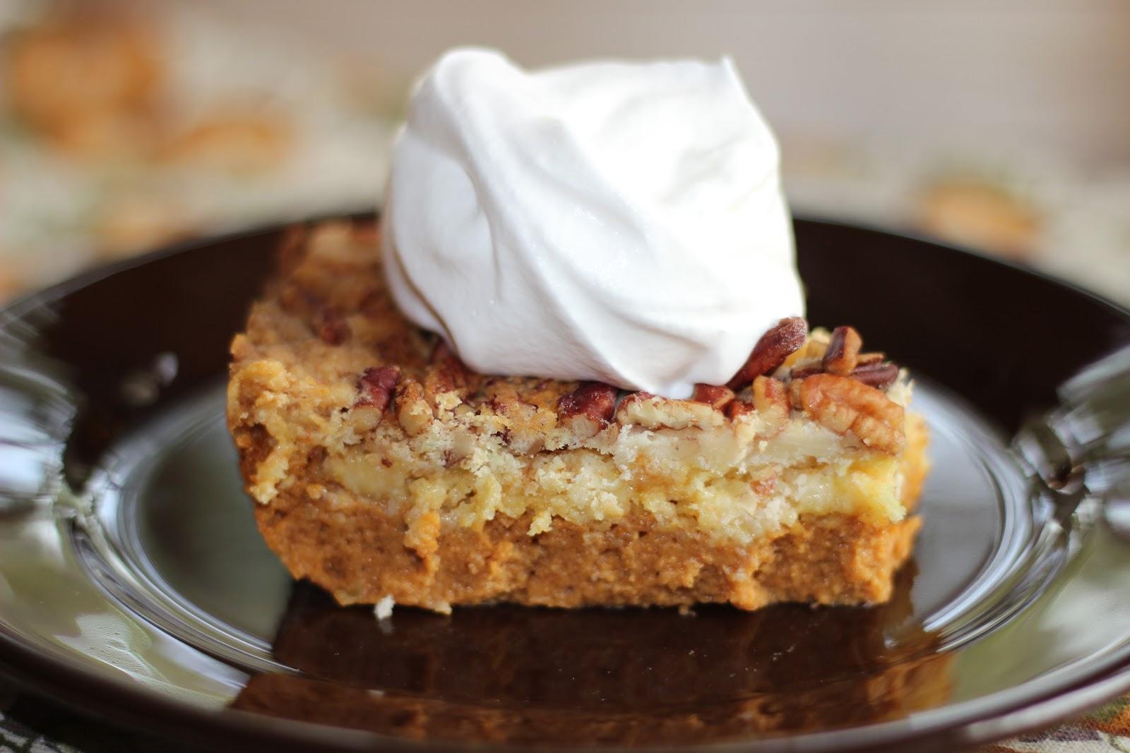 PumpkinCrunch Cake
