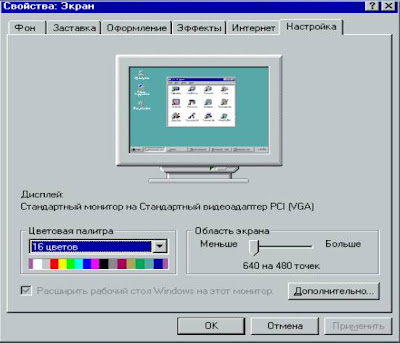 Драйвер Для Разрешение Экрана Windows Xp