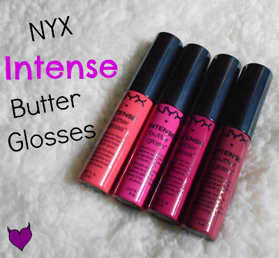 NYX Intense Butter Glosses