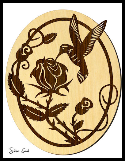 Scrollsaw workshop hummingbird scroll saw pattern for Wood burning templates free download