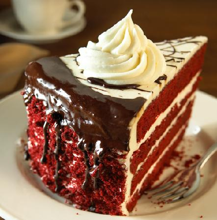 Choco Red Cake Mild Chocolate Flavor Not