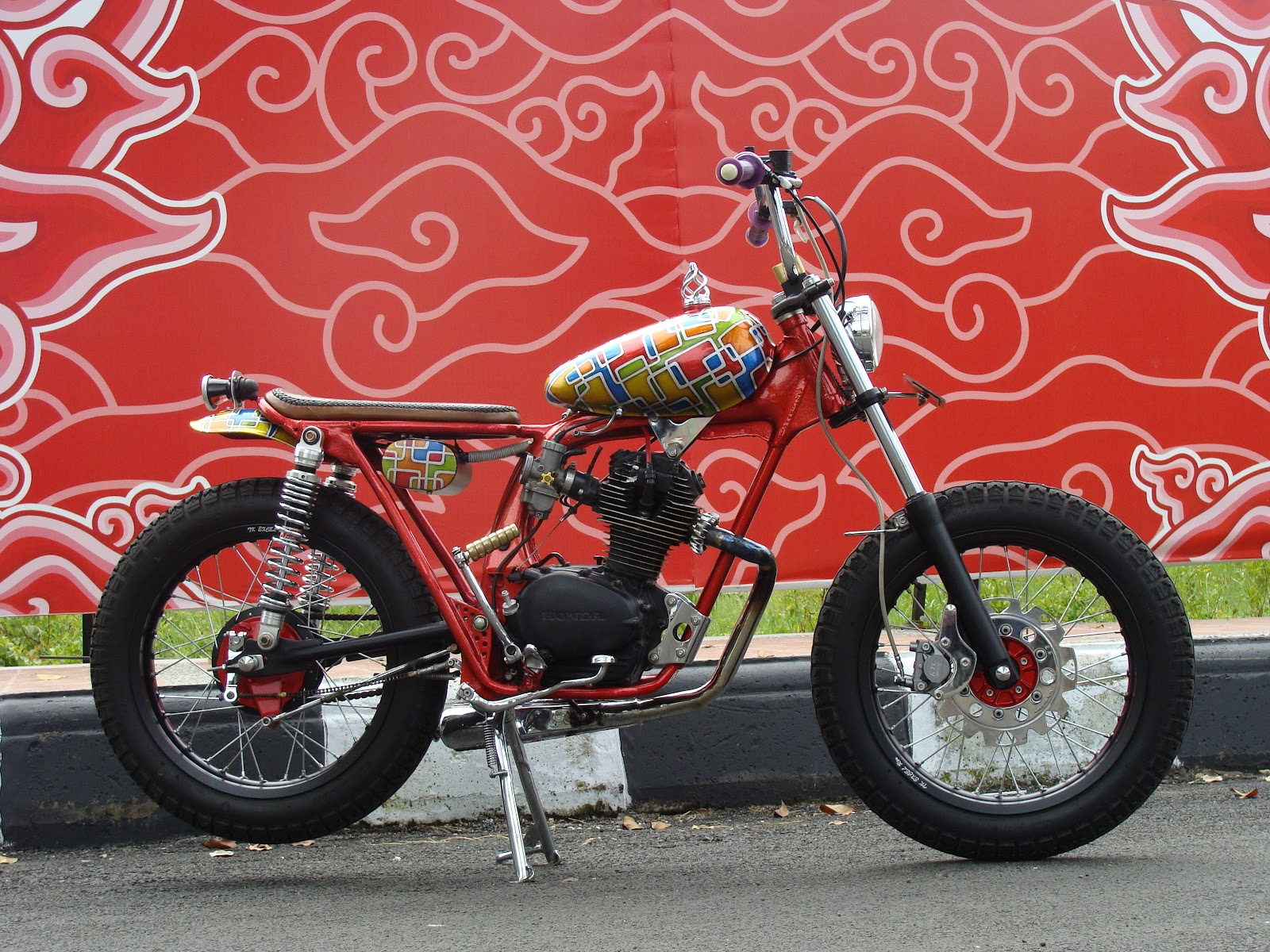 Yuza Fumi has sent his second bike in a few days, and we happily  title=
