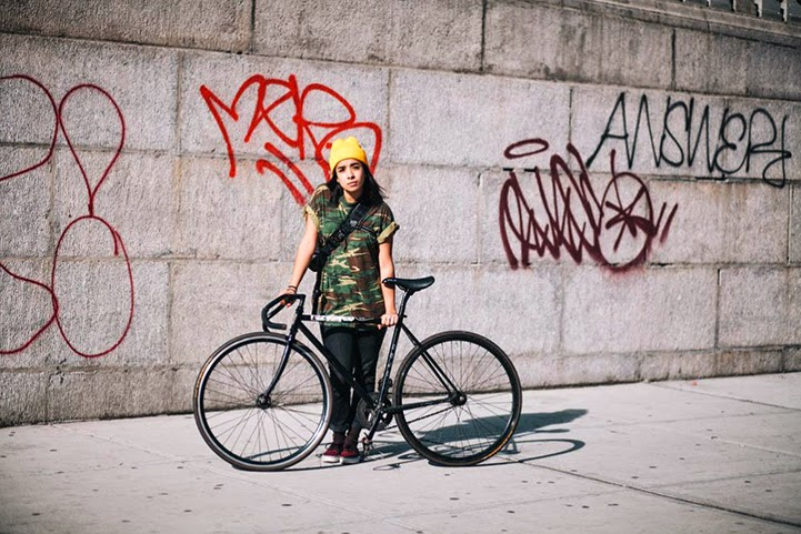 sam polcer,new york city, bicycle, bike, portrait, portraits