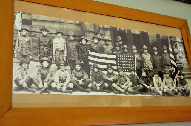 Outdoorsy, camping, boy scout nursery. Vintage Boy Scout Photo