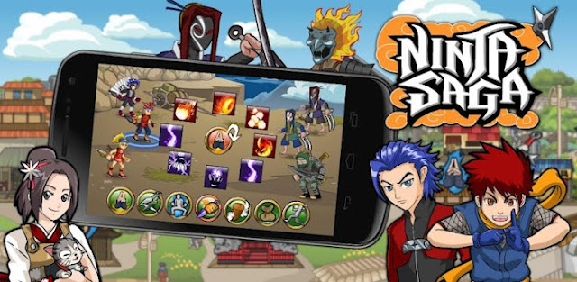 Game Ninja Saga v1.1.7 [Mod version] Cheats