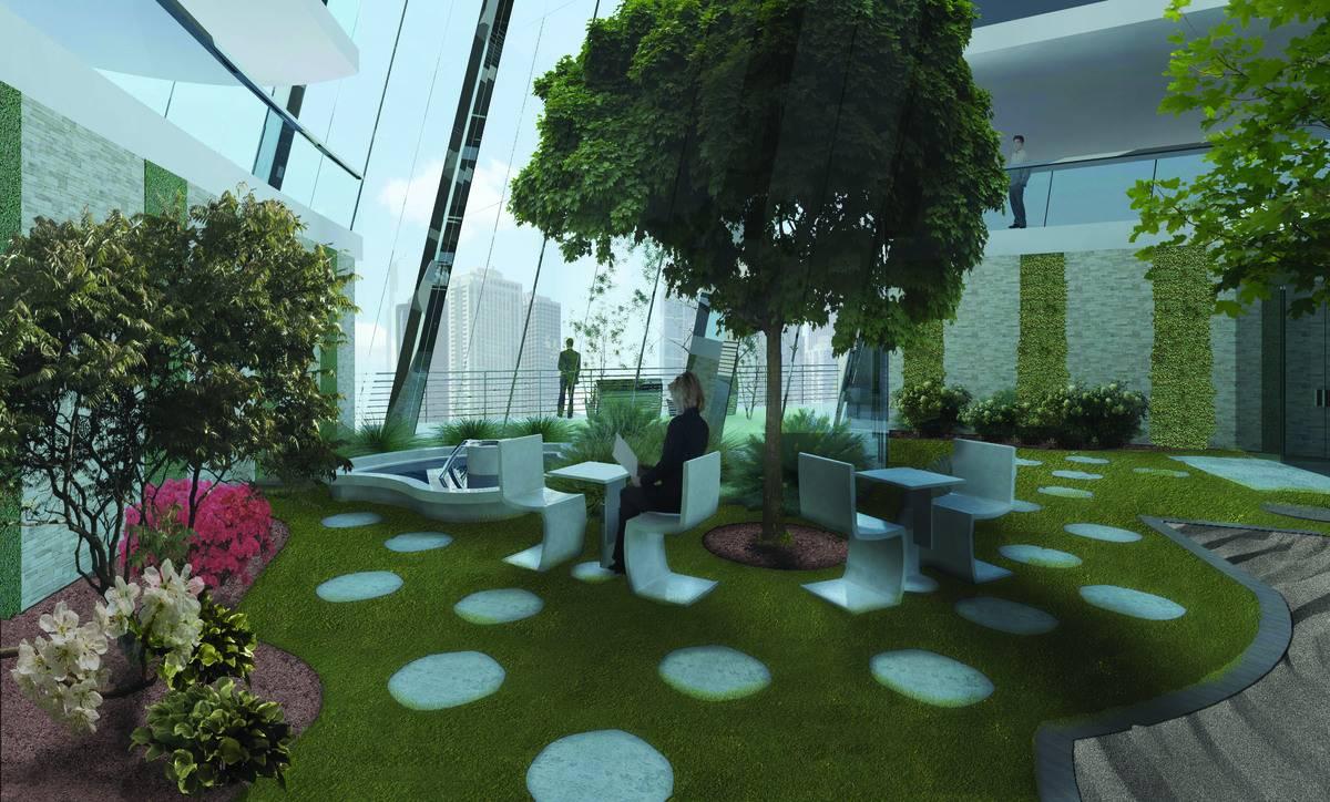 Conseils d co et relooking conception de votre jardin for Jardin mural d interieur