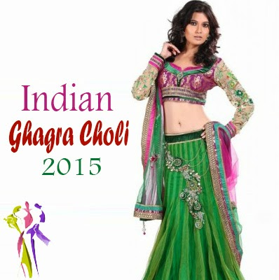 Indian Summer Wear Ghagra Choli Collection 2015