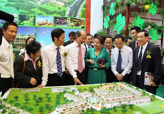 Dự án Eco Town được giới thiêu lần đầu tại Vietbuild 2013 26-9