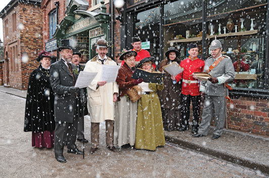 The Kissed Mouth 9th December Carol Singers