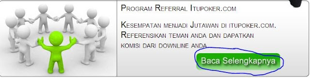 program referral ItuPoker.com Agen Poker Online Indonesia Terpercaya