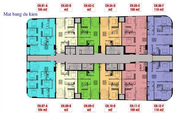 Mặt bằng chung cư Imperial Plaza