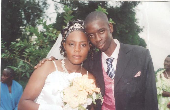 Pr Arinaitwe Moses and His Wife Arinaitwe Janet