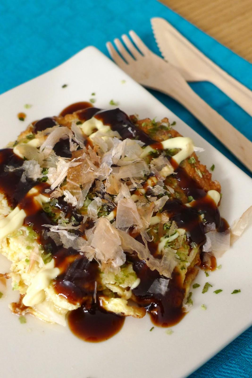 okonomiyaki cr pe japonaise recettes pour mon bent. Black Bedroom Furniture Sets. Home Design Ideas