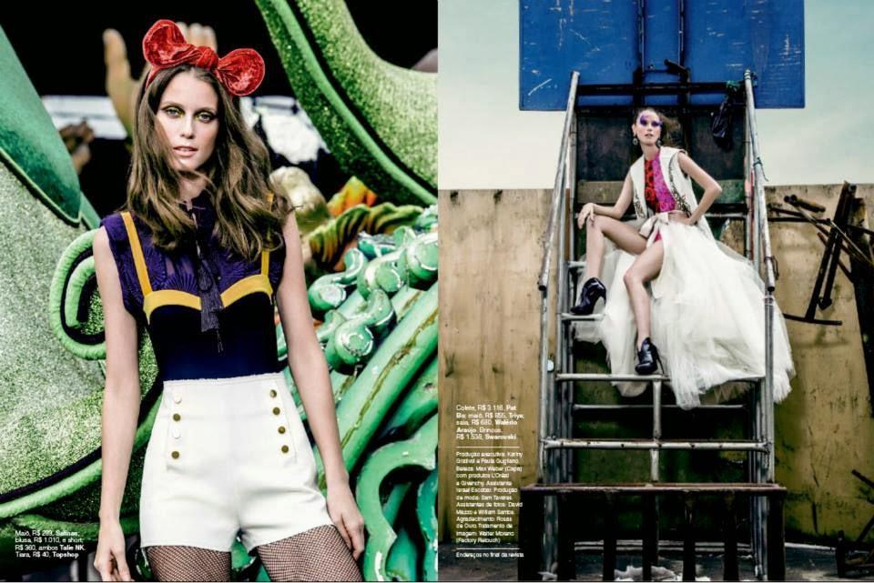 Fabiana Mayer HQ Pictures Glamour Brasil Magazine Photoshoot Fevereiro 2014
