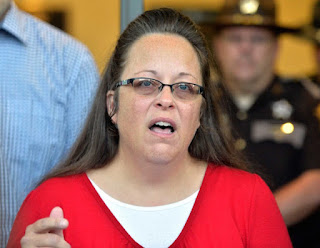 the tom gulley show kim davis fake interview rowan county kentucky clerk contempt of court jail federal judge supreme court oberk obergefell hodges married four times