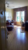 Fairmont Algonquin hotel room