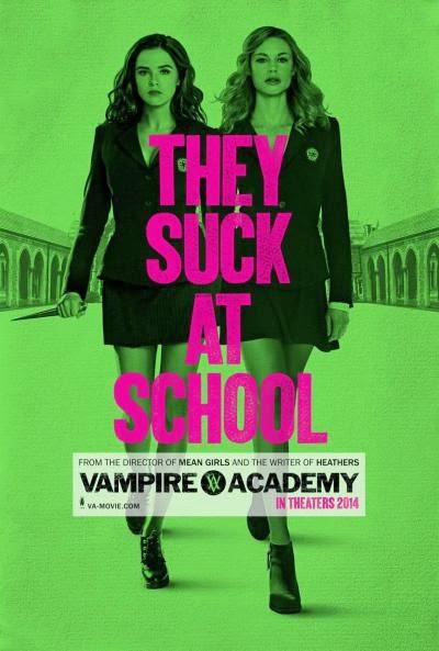 capa do filme Academia de Vampiros