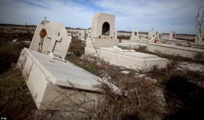 Terendam Banjir 25 Tahun, Kota Ini Jadi Kota Hantu