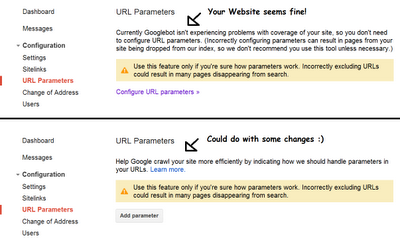 How to Use URL Parameters in Google Webmaster Tools
