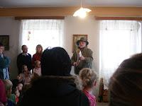 Velikonoce na Krásné 1. 4. 2012 - myslivecká přednáška - pan M. Kortan