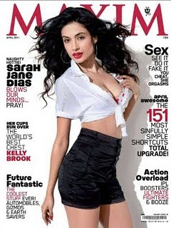 Sarah Jane Dias Hot Maxim India