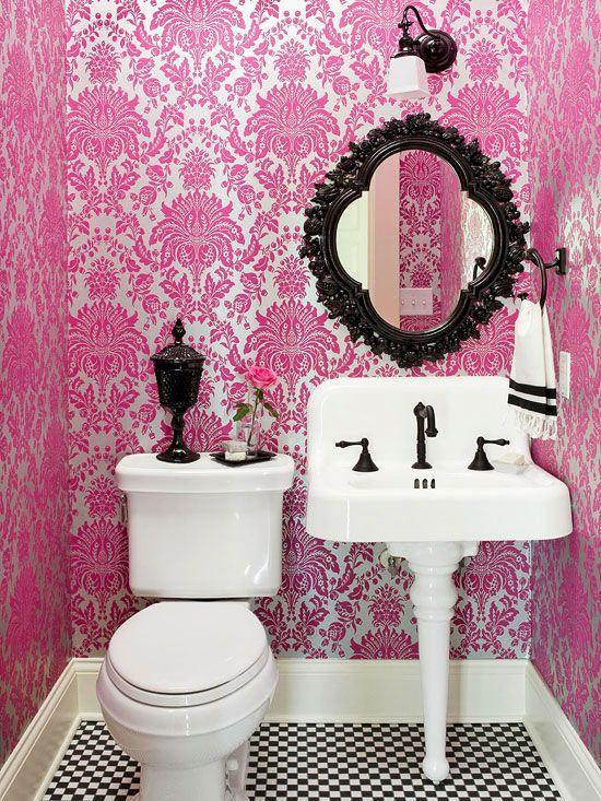 Baño Blanco Para Bizcocho:general baños color blanco color negro colores pastel creatividad