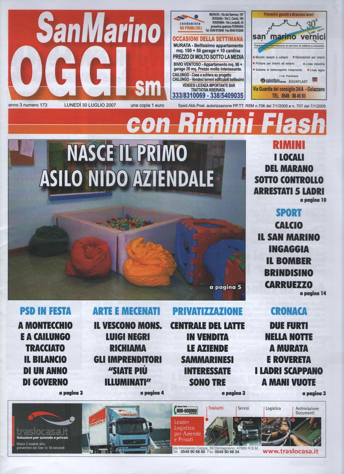 Quotidiano SanMarino OGGI