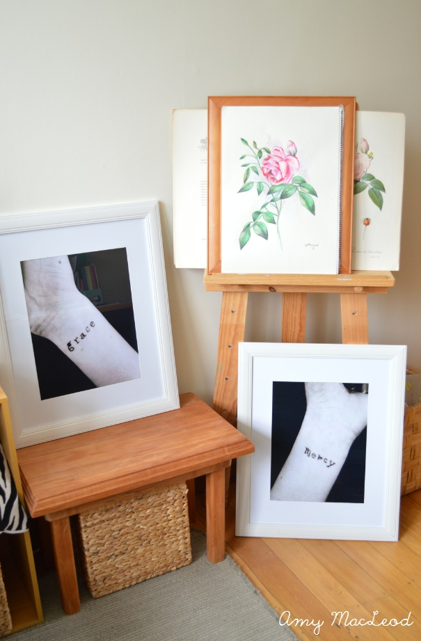 'Grace' and 'Mercy' photography by Amy MacLeod