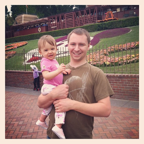 Baby at Disneyland