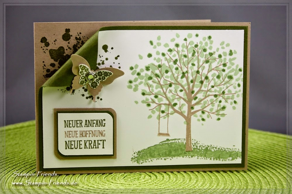 Stampin Up, Grußkarte