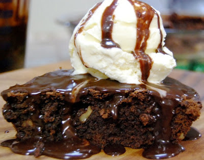 Brownie Pie a la Mode