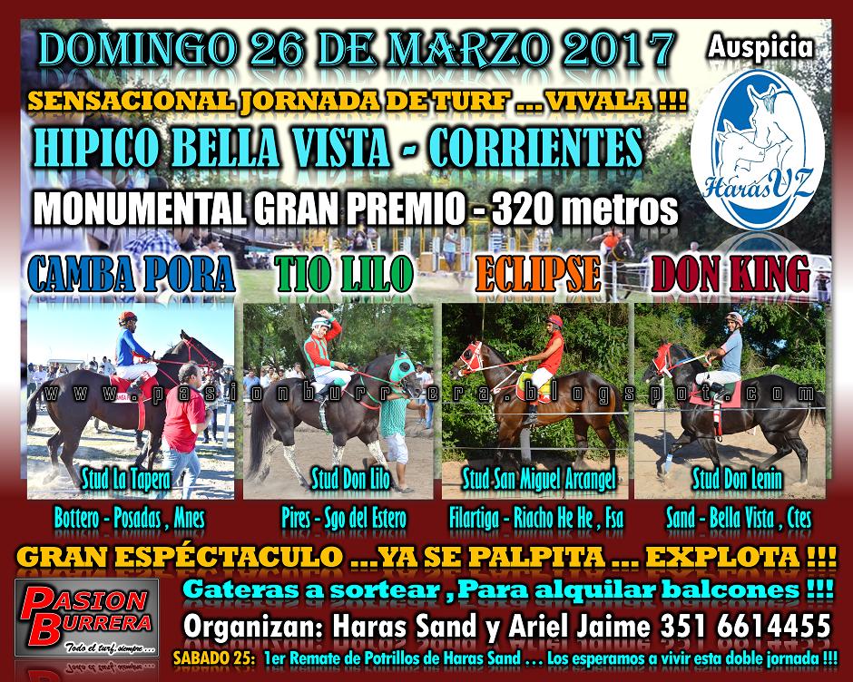 BELLA VISTA - 26 - Gran Premio - 320