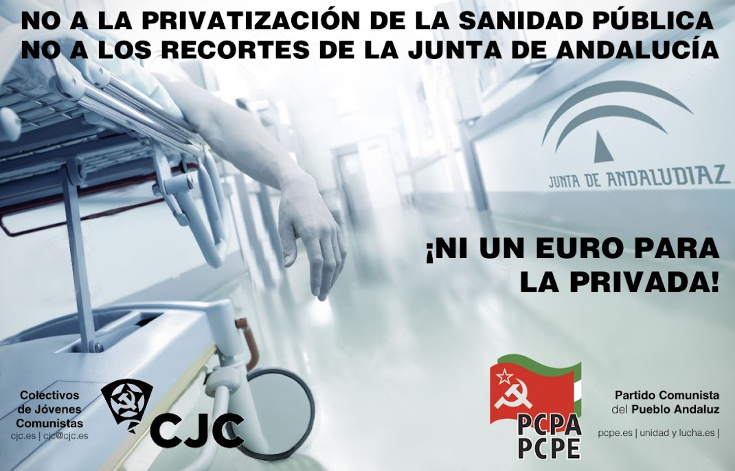 NO A LA PRIVATIZACIÓN DE LA SANIDAD PÚBLICA