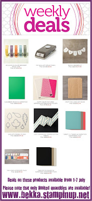 Check out the Weekly Deals at www.bekka.stampinup.net
