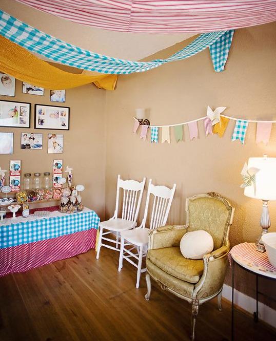 Decorar una fiesta con telas - Telas para terrazas ...