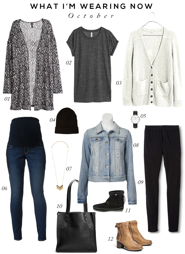 Fall Maternity Essentials (via Bubby and Bean)