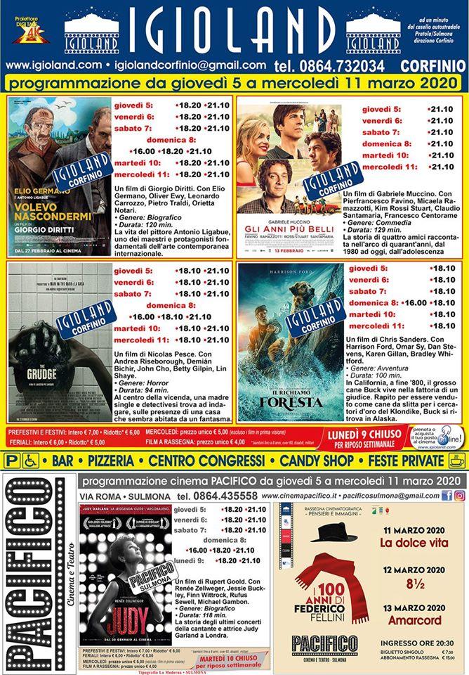 IGIOLAND E CINEMA PACIFICO SULMONA