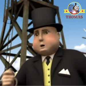 Good morning Sir Topham Hatt Thomas the tank engine called today is my happy birthday celebration
