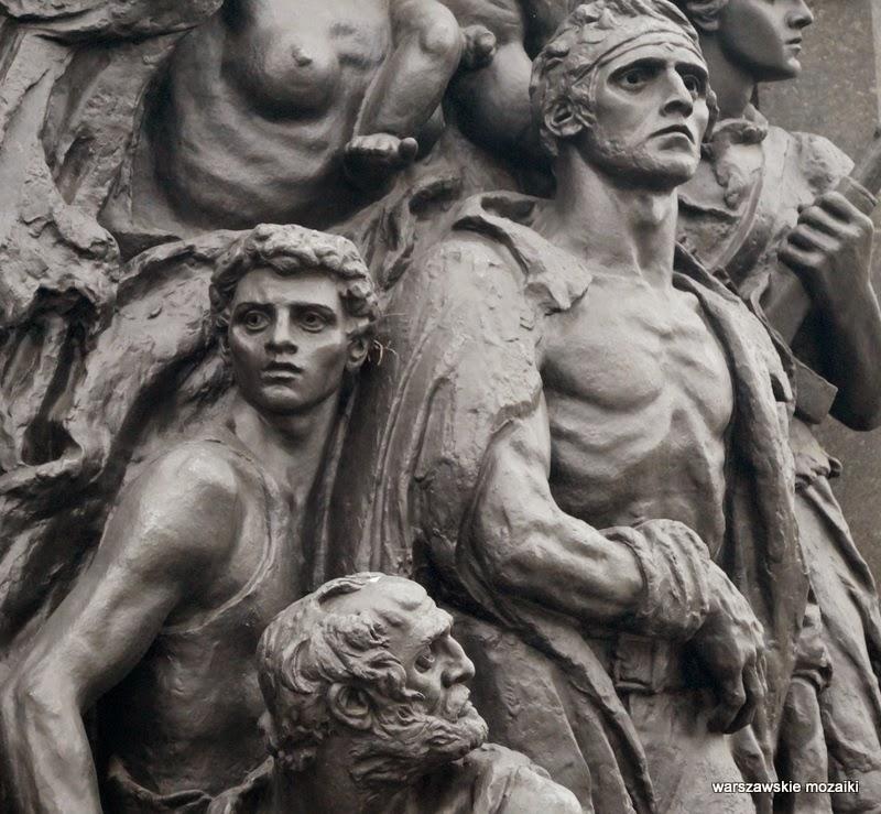 Muranów Warszawa pomniki warszawskie getto Natan Rapaport