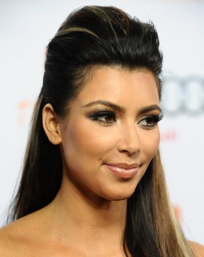 kim kardashian hair extensions Photo