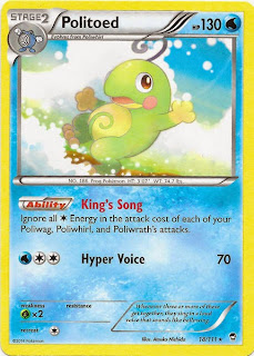 Politoed Furious Fists Pokemon Card