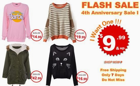 Flash Sale Romwe