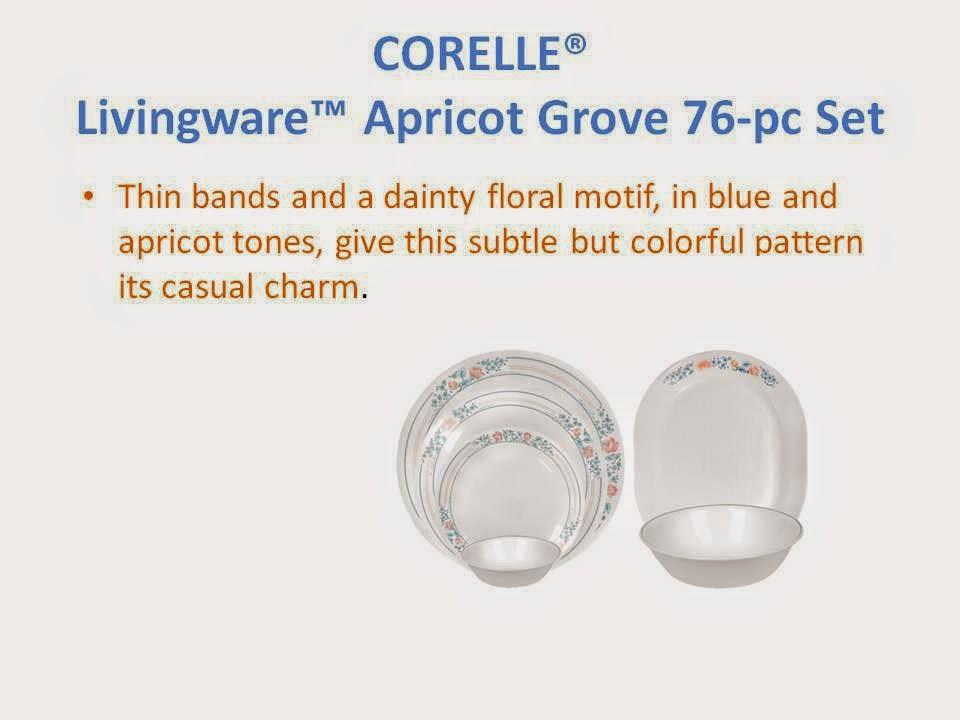 76 pc Corelle Livingware